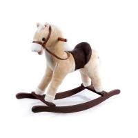 Детская мягкая лошадка-качалка Yo Yo Rock GS1010