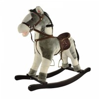 Детская мягкая лошадка-качалка Yo Yo Rock GS2027