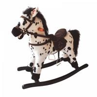 Детская мягкая лошадка-качалка Yo Yo Rock GS2035