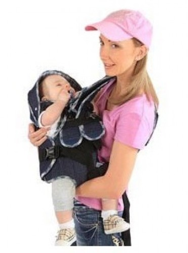 Кенгуру рюкзак Babystyle Мася Джинс