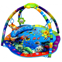 Коврик развивающий Подводный мир (музыкальный)