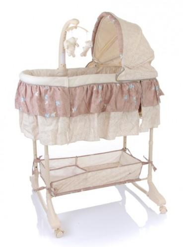 Кроватка-люлька детская Jetem Sweet Dream Mobile 3 в 1