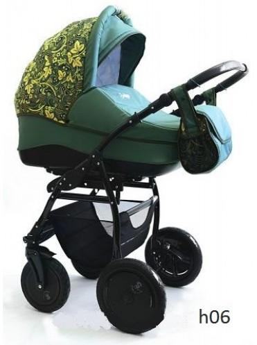 Детская коляска 2 в 1 Indigo Collection Hohloma