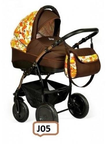 Модульная коляска Indigo Collection Leaves 2 в 1