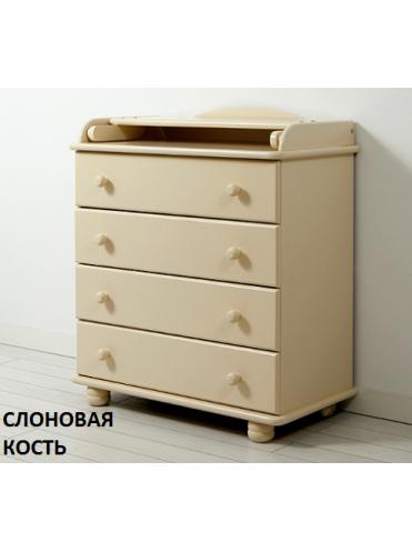 Комод с пеленальным столиком Аистенок Gandylyan
