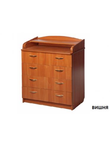 Комод с пеленальным столиком Ульяна 80/5 ЛДСП