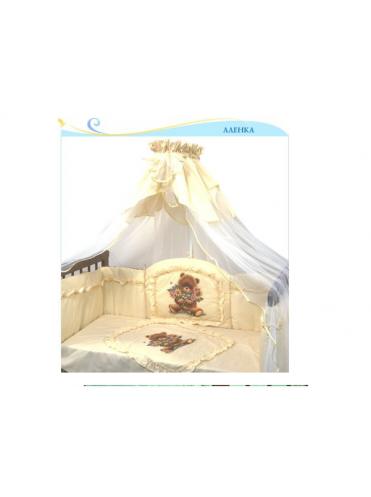 Комплект в кроватку Золотой Гусь Алёнка 7 предметов