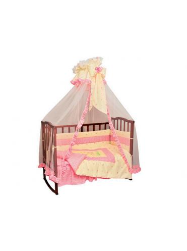 Комплект в кроватку Бабочка 7 предметов