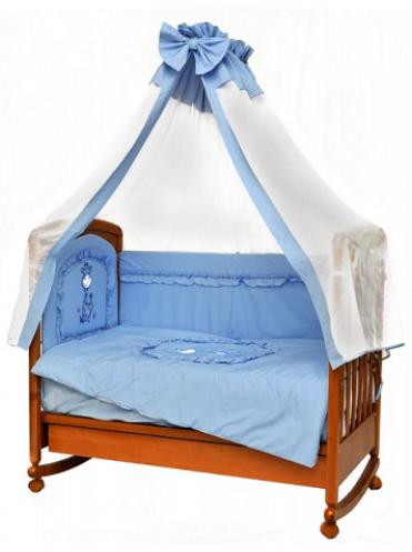 Комплект в кроватку Зоопарк 7 предметов