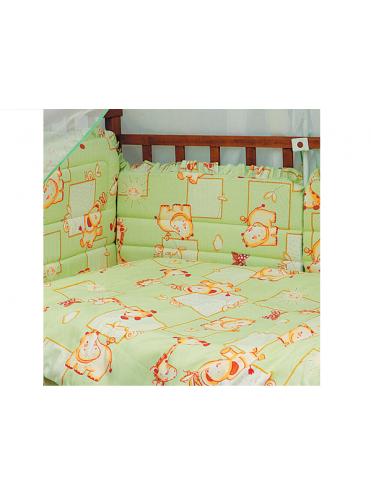 Комплект в кроватку Карапуз 7 предметов