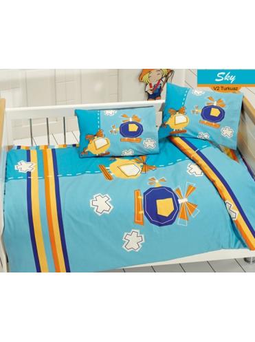 Комплект в кроватку Вертолётики 6 предметов