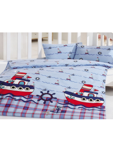 Комплект в кроватку Кораблики 6 предметов