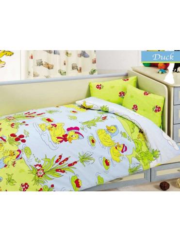 Комплект в кроватку Уточки 6 предметов