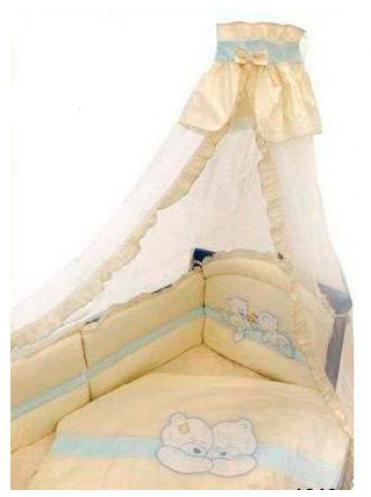 Комплект в кроватку Золотой гусь Лапушки 8 предметов