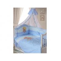 Комплект в кроватку Золотой гусь Мишка-Царь 7 предметов