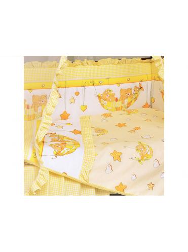 Комплект в кроватку Мишки в гамаке