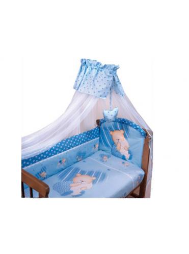 Комплект в кроватку Золотой Гусь Мишутка 7 предметов