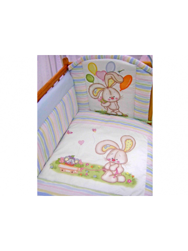 Комплект в кроватку Золотой Гусь Радужный 7 предметов