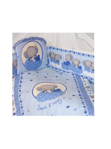 Комплект в кроватку Золотой Гусь Слоник Боня 7 предметов