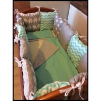 Комплект в кроватку Борта-Подушечки 15 предметов