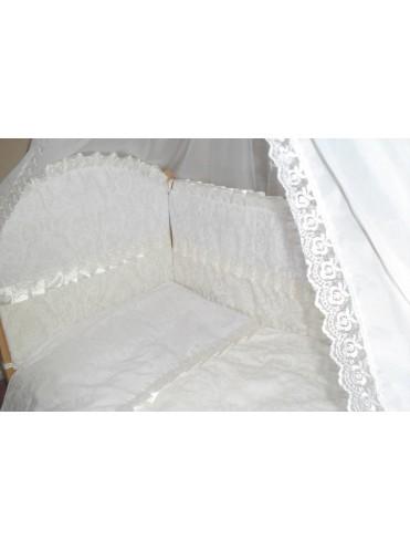 Детский постельный комплект в кроватку Малютка 7 предметов