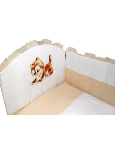 Бортик в детскую кроватку Панно