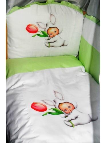 Детский комплект в кроватку Панно 6 предметов
