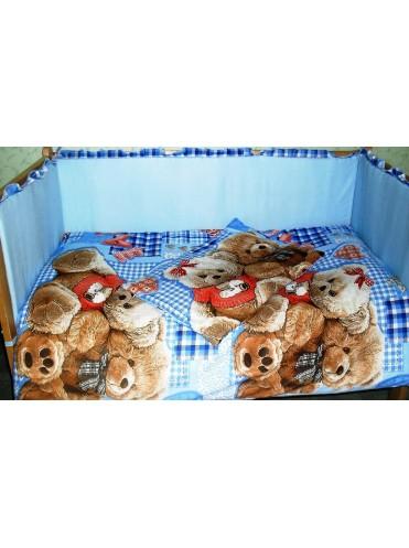 Комплект в кроватку Плюшевые мишки 6 предметов