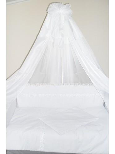 Детский постельный комплект в кроватку Полянка 6 предметов
