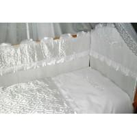 Комплект в детскую кроватку Снежинка 6 предметов