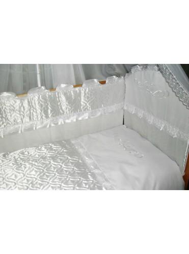 Набор в кроватку Снежинка 6 предметов