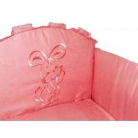 Бортик в детскую кроватку Вышивка