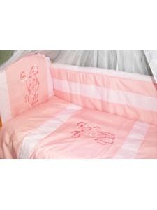 Комплект в детскую кроватку Вышивка 6 предметов