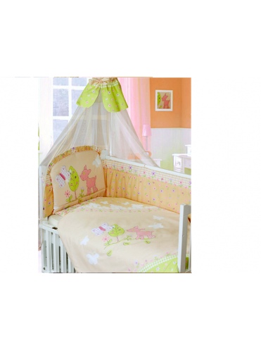 Комплект в кроватку Золотой Гусь Little Friend 7 предметов