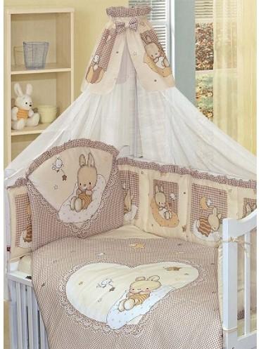 Комплект в кроватку Золотой Гусь Степашка 7 предметов
