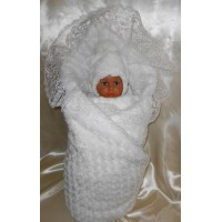 Комплект на выписку Балу Бантики (с одеялом) 8 предметов