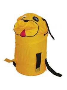 Корзина для игрушек Собака желтая