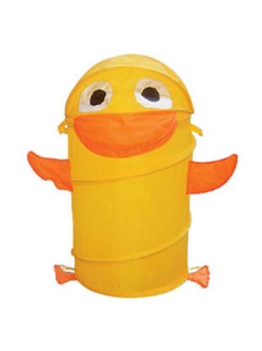 Корзина для игрушек Утенок желтый
