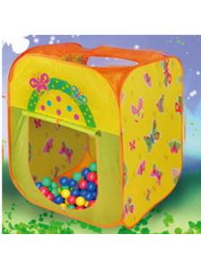Игровой домик + 100 шаров Бабочки CBH-21