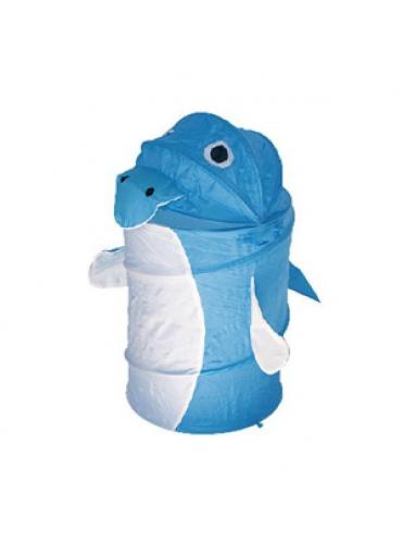 Корзина для игрушек Дельфин голубой