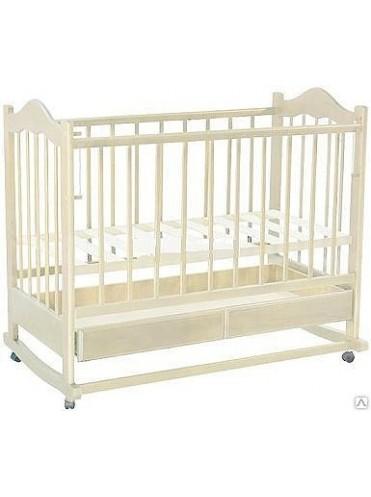 Детская деревянная кроватка Ведрусс Кира-1 (слоновая кость)