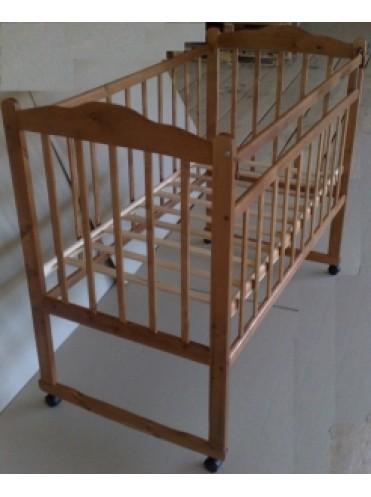 Детская деревянная кроватка Ника