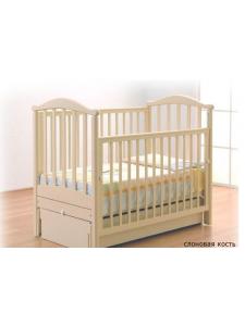 Детская деревянная кроватка Людмила маятник Gandylyan