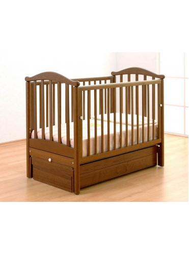 Кроватка для новорожденного Людмила маятник Gandylyan