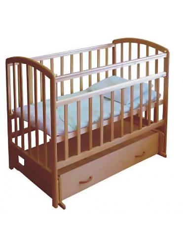 Детская деревянная кроватка ФЕЯ 311