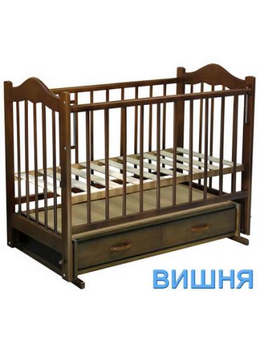 Детская деревянная кроватка Ведрусс Кира-4