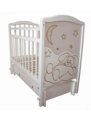 Детская деревянная кроватка МАЛЫШ 12