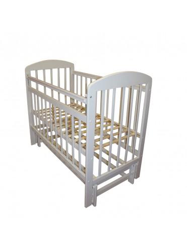Детская деревянная кроватка Мой малыш-9 продольный маятник
