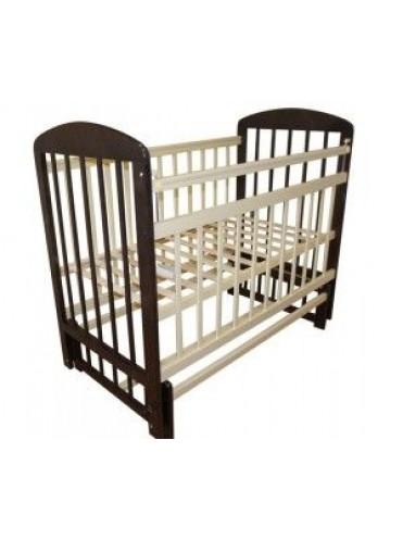 Детская деревянная кроватка Мой малыш-9 поперечный маятник