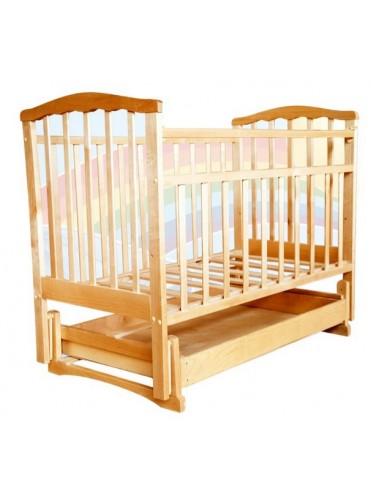 Детская деревянная кроватка ЗОЛУШКА - 4 М